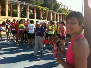 Ana Carrascosa da la salida a la II Quedada de Running Femenino - Nosotras Deportistas