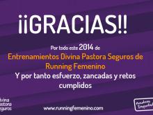 Final Entrenamientos Divina Pastora Seguros de Running Femenino 2014